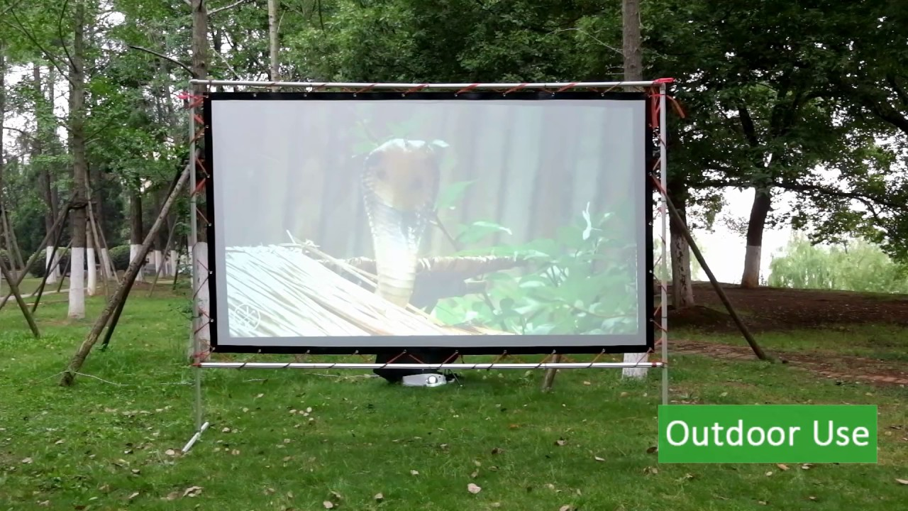 how to choose a projector for outdoor use