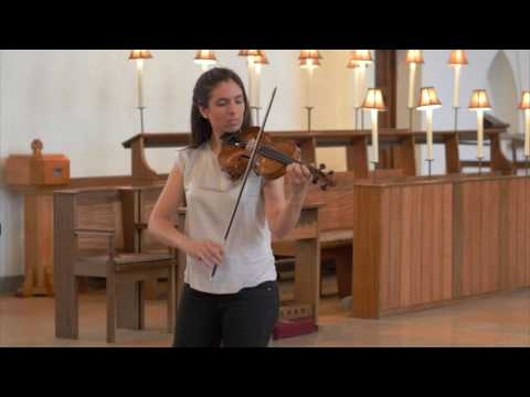 Katerina Nazarova | J.S. Bach - Sarabande from Violin Partita No.2 in D minor BWV 1004
