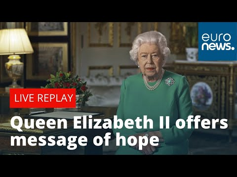 Queen Elizabeth II addresses UK in rare public broadcast amid coronavirus pandemic