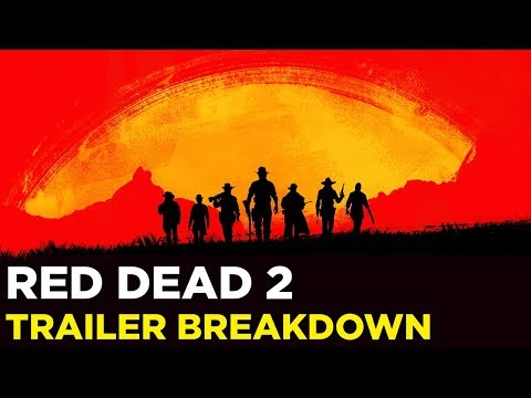 RED DEAD REDEMPTION 2 — Trailer Analysis with Samit and Pat