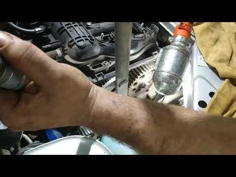 Замена ремня ГРМ и помпы Лада Гранта на автомате
