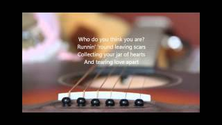 JAR OF HEARTS - CHRISTINA PERRY  (ACOUSTIC COVER BY RIZA) for KARAOKE