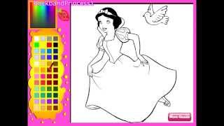 Disney Princess Snow White Coloring Pages - Coloring Pages For Girls
