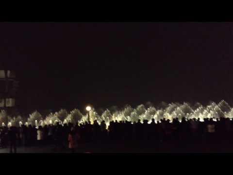 Hangzhou water show!
