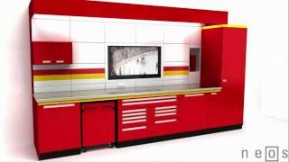 Premium Neos Metal Garage Cabinets By Garage Envy