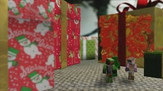 Minecraft ANIMATION - HAPPY CHRISTMAS!