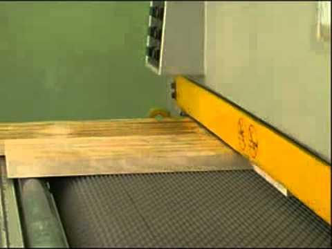 Покрытие маслом мебельных щитов в два цвета. Wood oil coating .