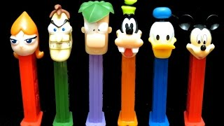 Phineas and Ferb & Mickey Mouse Clubhouse PEZ Candy Dispensers from Disney - itsplaytime612
