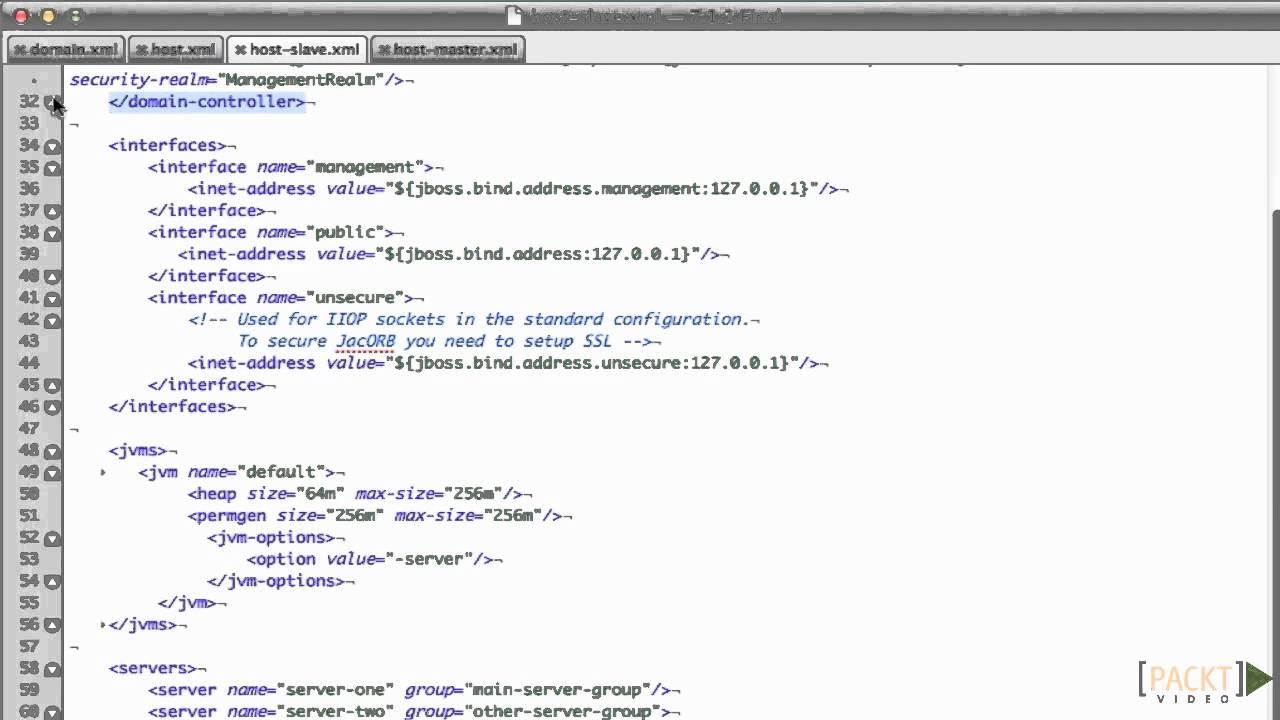 JBoss EAP Tutorial: Running in Domain Mode | packtpub com