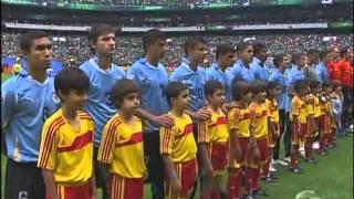 MEXICO VS URUGUAY sub-17 2011 Himno Nacional en el Azteca