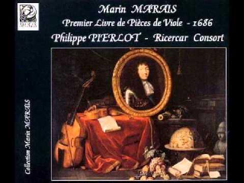 Marin Marais: Premier Livre de Pieces de Viole (Pierlot)