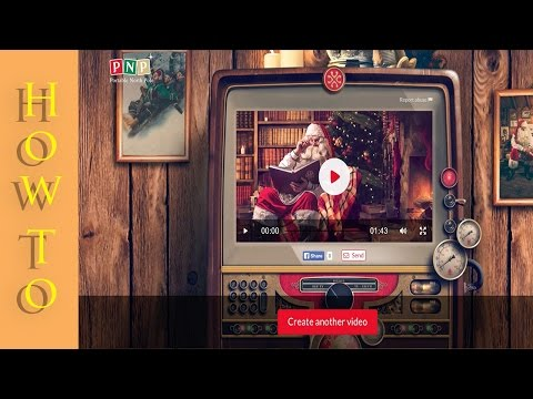 How To : Make A FREE Santa Video