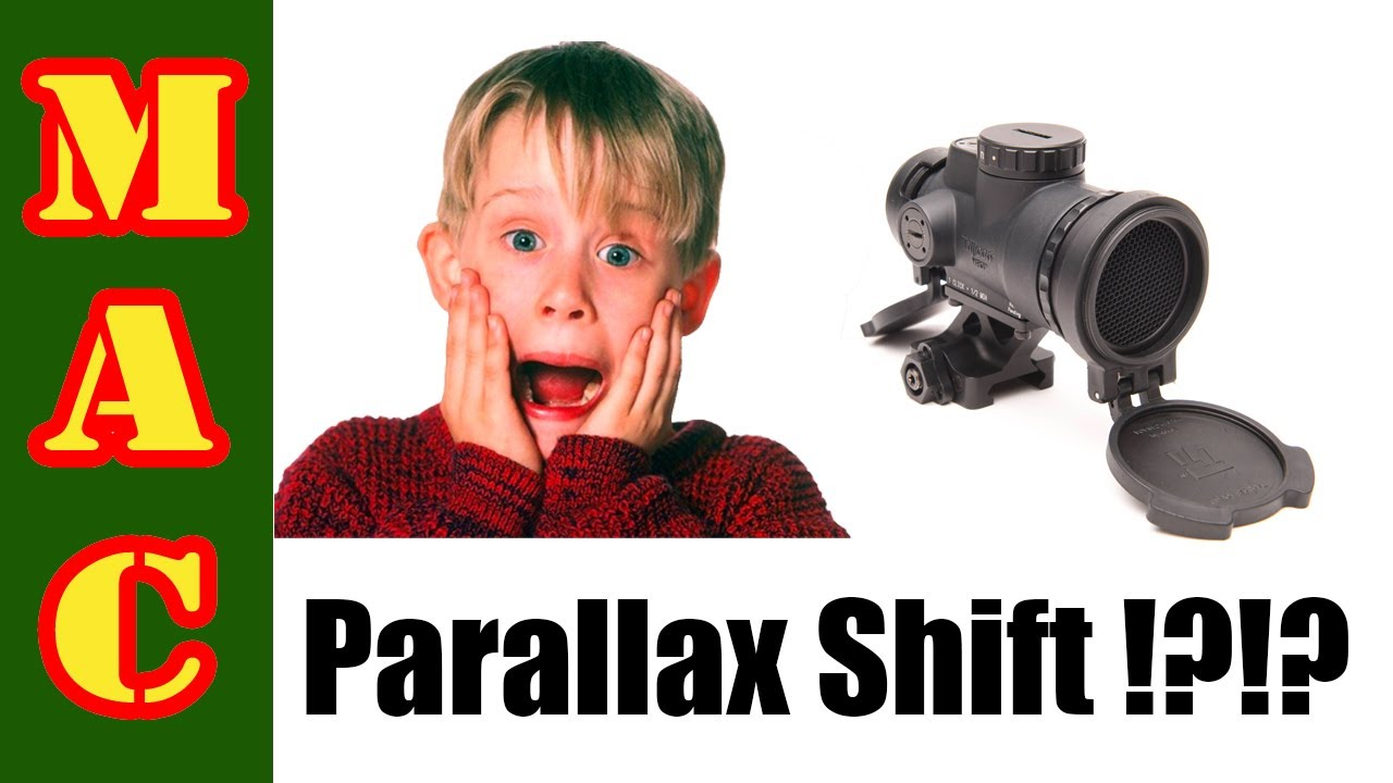 Red Dot Sight Parallax Shift - Is it THAT big of a deal?!?!?