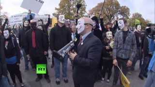 Million Mask March in Washington DC