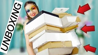 COLOSSAL UNBOXING!! Overloaded with Makeup!