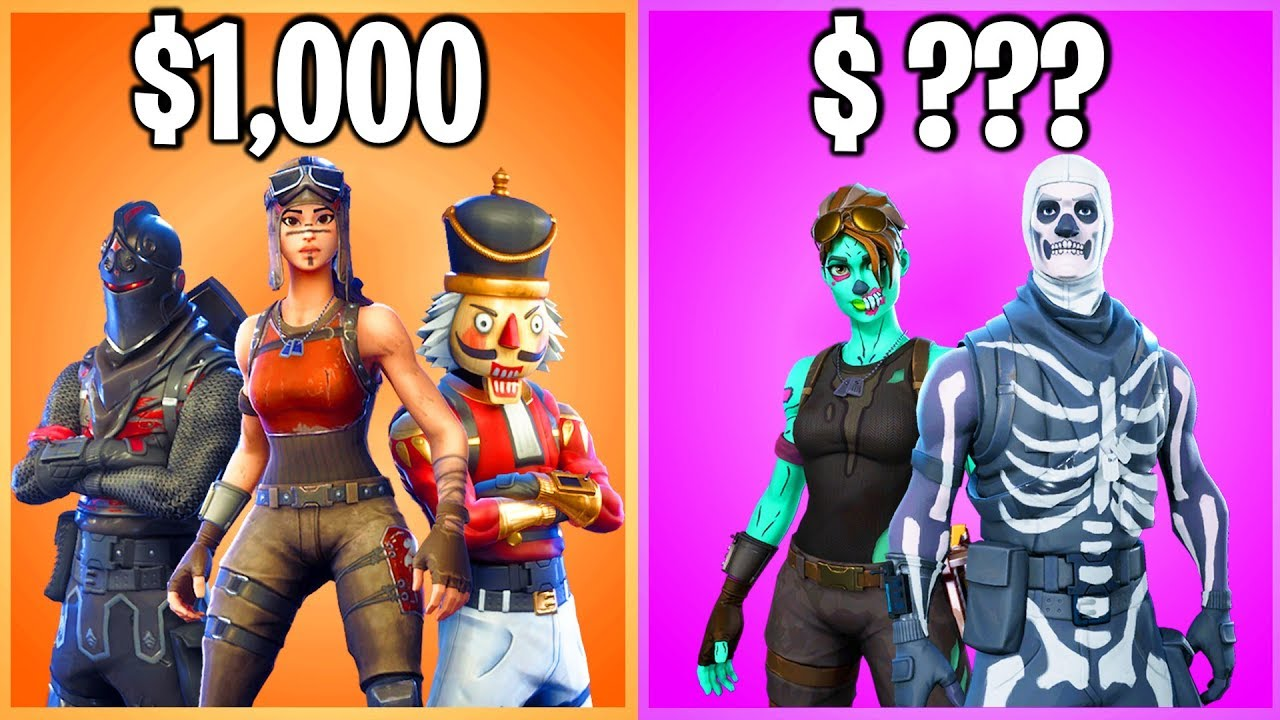 TOP 10 MOST EXPENSIVE FORTNITE ACCOUNTS (do NOT Buy these ...