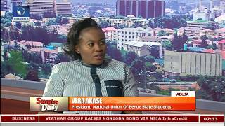 Benue Killings: Youths Needed To Express Their Grievances-- NUBSS President Pt.1 |Sunrise Daily|