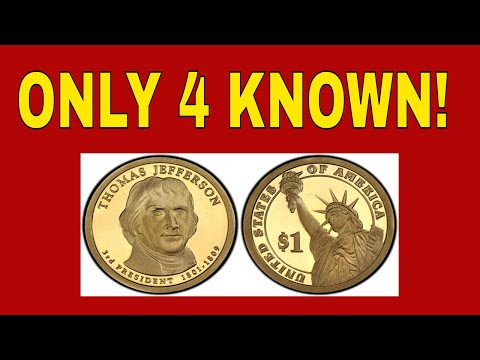 Super Rare Presidential Dollar Error Coins! Free Giveaway Too! Dollar Coins Worth Money!