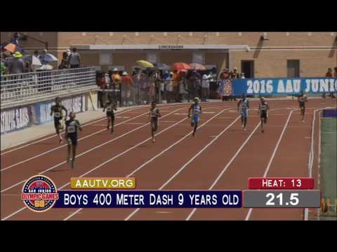 Jonathan Simms Breaks 400m Age Group AAU National Record