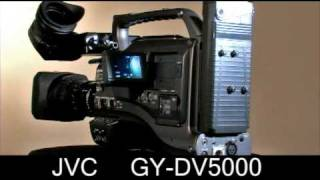 JVC DV and Mini DV GY-DV5000 3 CCD Video Camera