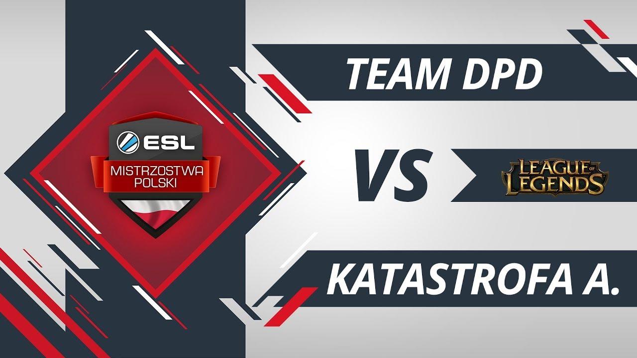 Team DPD vs Katastrona awionetki | EMP LoL W4D2 Gra #2