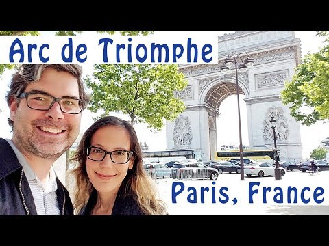 Visit the Arc de Triomphe in Paris!