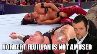 Norbert Feuillan is Not Amused - Battleground 2017 et Shinsuke Nakamura