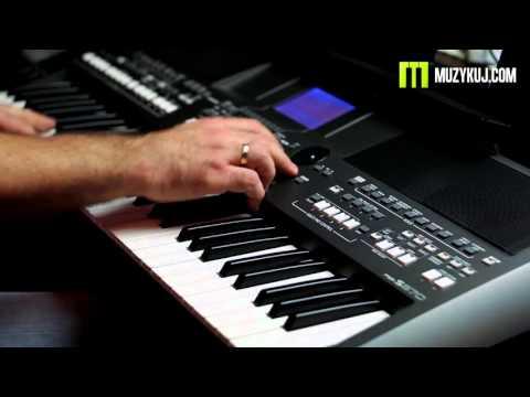 Yamaha PSR S670 Bass Hammond