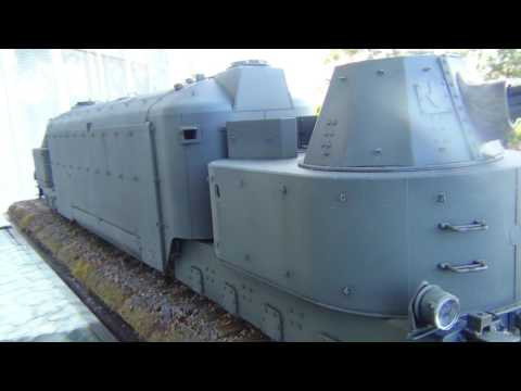 Panzertriebwagen Nr.16 German Armoured Train. Post Build.