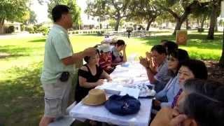 越南嶺南中學1969班同學會2014年六十歲聚餐