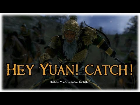Dynasty Warriors 9 | Man Chong Ep.37 | Rush+Yuan catches an arrow with face[PS4 Gameplay/Commentary]
