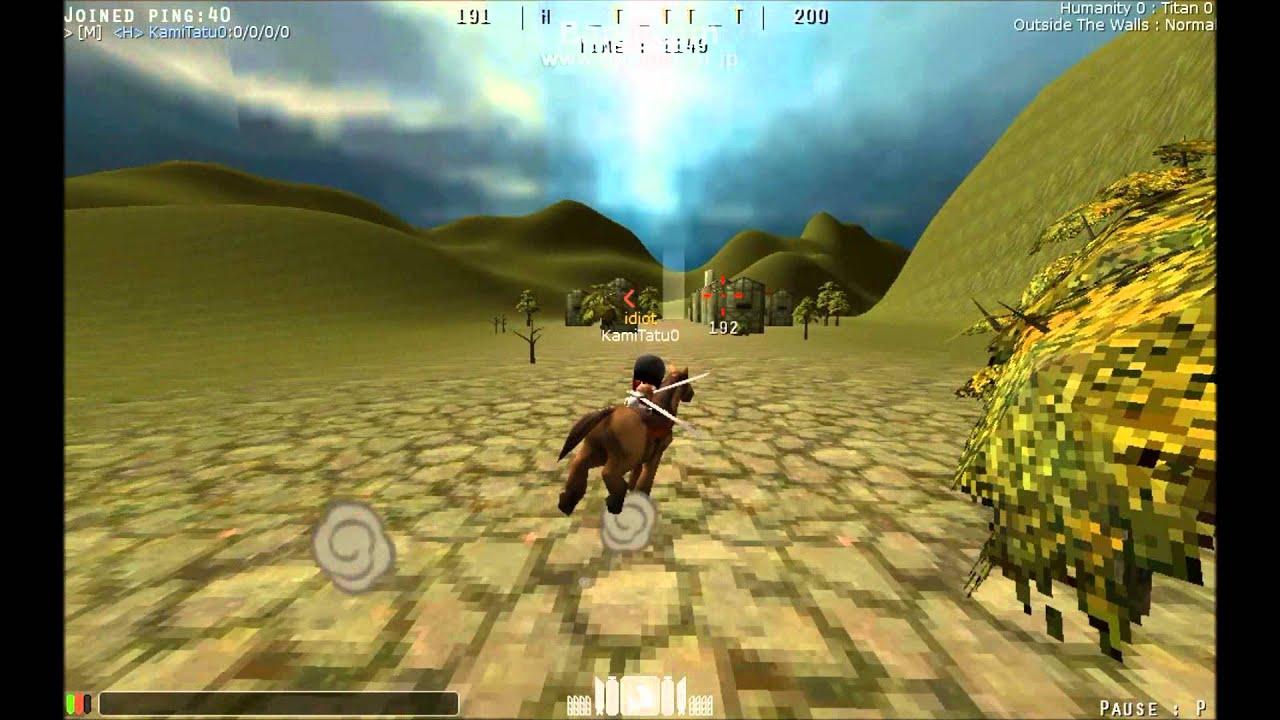 【紹介動畫】【巨人の獵手~Attack On Titan tribute game~】part15 - YouTube