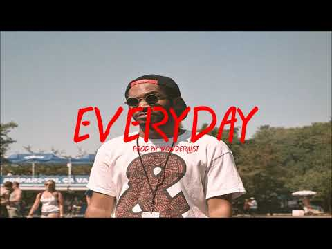 """""""Everyday"""" -  Kaytranada x Goldlink Type Beat (Prod. by Wonderlust)"""