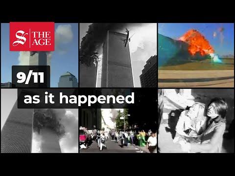 9/11, 2001 as it happened