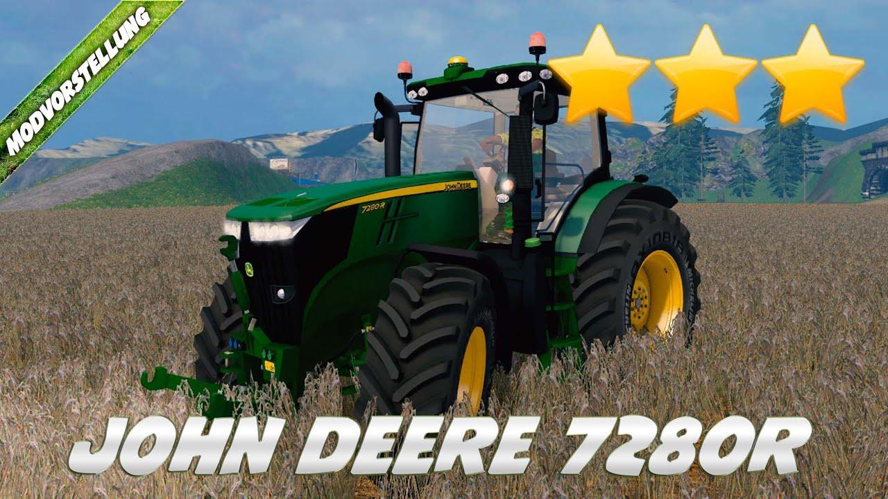 AGO WEIHNACHTSGESCHENK John Deere 7280R Mod F 252 R Landwirtschafts