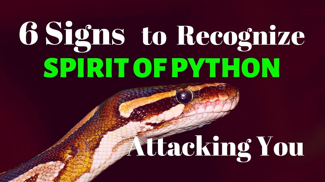 6 Signs to Recognize SPIRIT OF PYTHON Attacking you - Prayer Of Deliverance  From Python Spirit