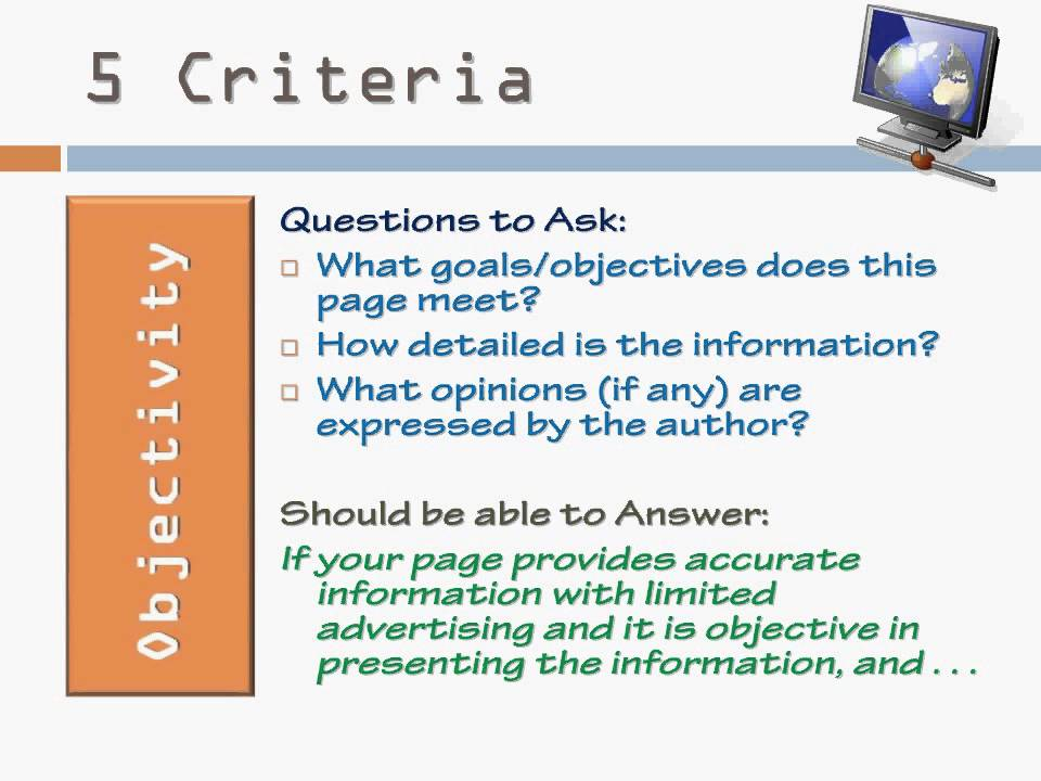 criteria essays Text only | back english composition 1 evaluation and grading criteria for essays ivcc's online style book presents the grading criteria for writing assignments.
