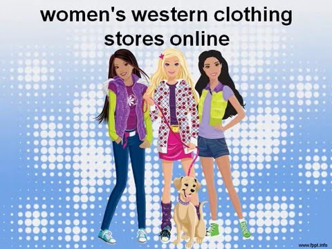 women's western clothing stores online