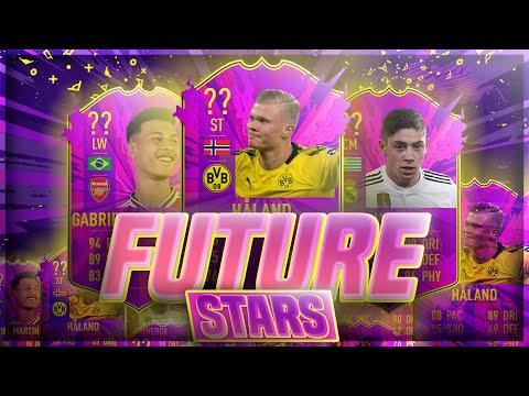 FIFA 20 FUTURE STARS PREDICTIONS!! FT. HALAND, VALVERDE, MARTINELLI ETC... (FIFA 20)