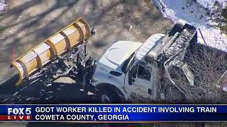 GDOT worker killed in train accident