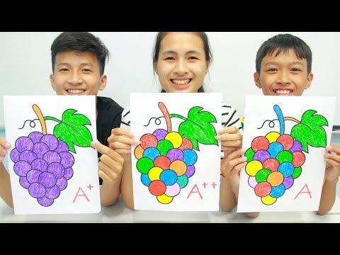 Grapes Fruits, Warna