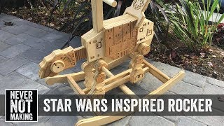 Making a Star Wars Rocking Horse - AT-AT