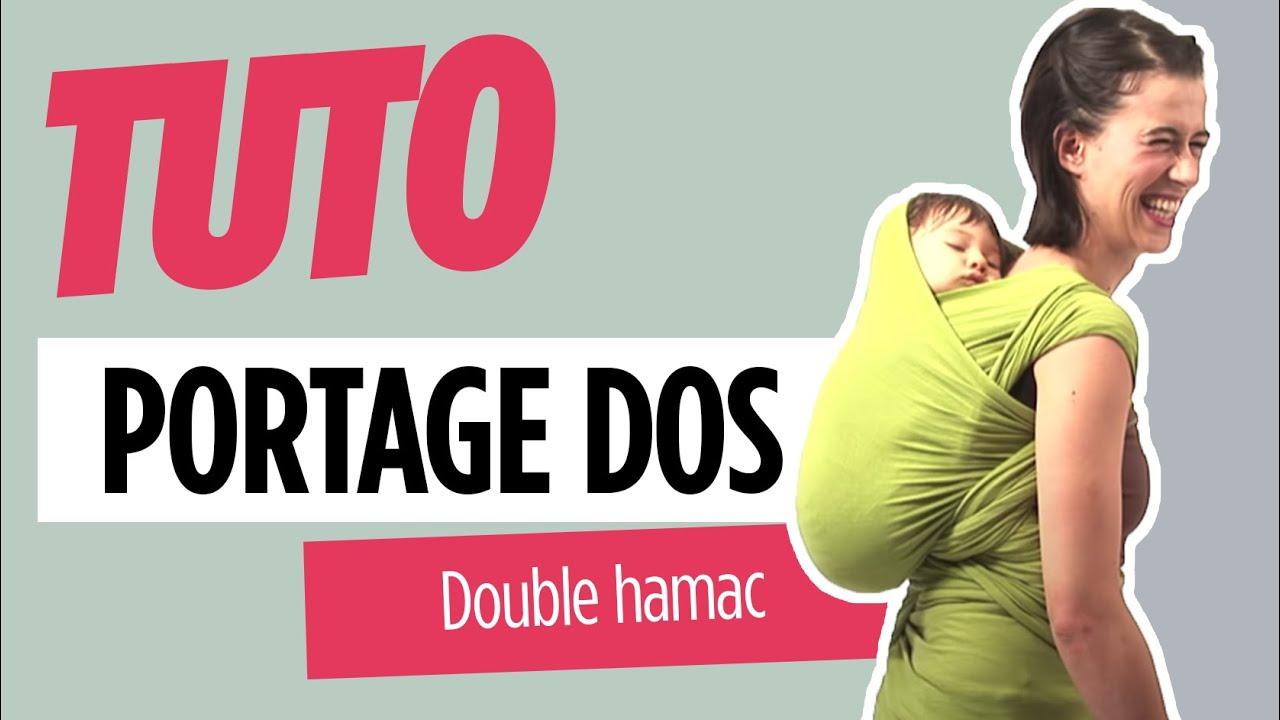 Echarpe de portage - Double Hamac Dos - Love Radius - YouTube 5c24bae79ec