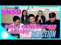 Non-Kpop Fans REACT to SNSD GIRLS GENERATION (소녀시대) - GEE  and LION HEART!!