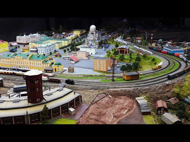 Оренбург. Макет: железная дорога, поезда. Обзор гостиницы Дон Кихот. Фестиваль Диво Евразии