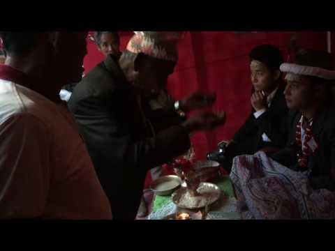 TRADITIONAL NEPALI WEDDING IN LIMBU CULTURE Final ashiss  jhareko by damai baje