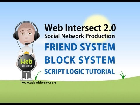 10. Friend and Block System PHP MySQL Ajax Tutorial Social Network Website Development