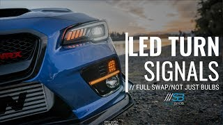 FULL SEND LED TURN SIGNALS | 2015-2019 SUBARU WRX STI | SUBIEBROS