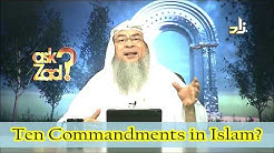 Ten Commandments in Islam - Assim al hakeem