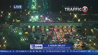 2 Hour Delay On The George Washington Bridge